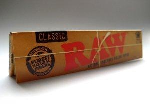 画像1: RAW CLASSIC KING SIZE SLIM ペーパー巻紙