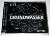 【CD】GRUNDWASSER/LIVE EDITION
