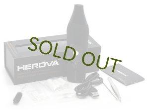 画像1: 【正規品】HEROVA / ドライハーブ・ワックス・オイル1台3役ヴェポライザー