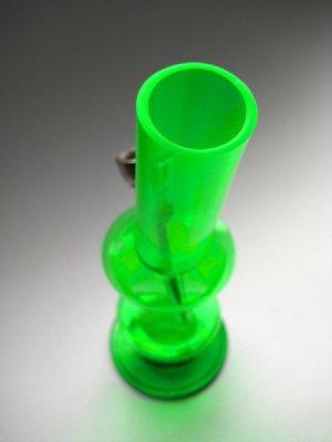 画像2: コンパクトIIアクリルボング水パイプ【緑】