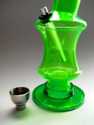 画像4: コンパクトIIアクリルボング水パイプ【緑】