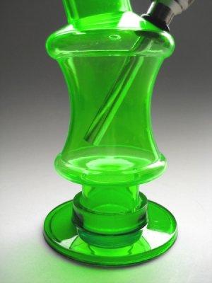 画像3: コンパクトIIアクリルボング水パイプ【緑】