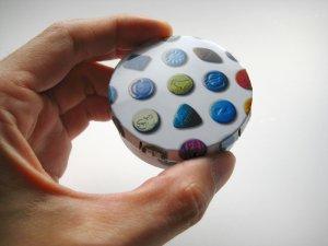 画像1: 【SALE】budbomb社製スタッシュ缶ピルケース【ピルpill玉MDMA柄】