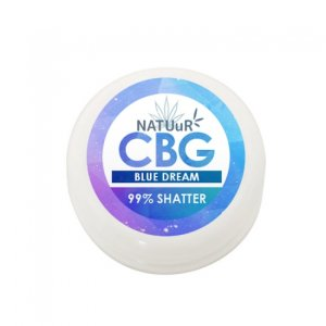 画像2:  【CBG99%】NATUuR CBG SHATTER【BLUE DREAM】テルペン配合CBGワックス/シャッター