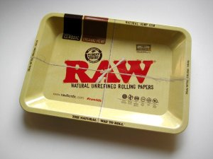 画像1: RAW ROLLING TRAY/ローリングトレイ【12.5×18×1.8cm】